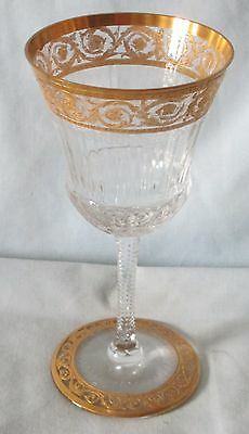 St Louis Thistle Sherry or Liquor Goblet 5 1/8 tall