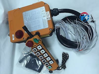 F24-10S Industrial Hoist Crane Wireless remote control 10 single buttons 1T+1R