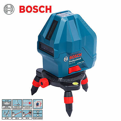 Bosch GLL3-15X Professional 3-Point Self-Levelling Lasers Upgraded from GLL 3-15