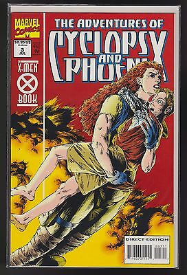 The Adventures of Cyclops and Phoenix #3 (Jul 1994, Marvel) NM EXPEDITED SHIP