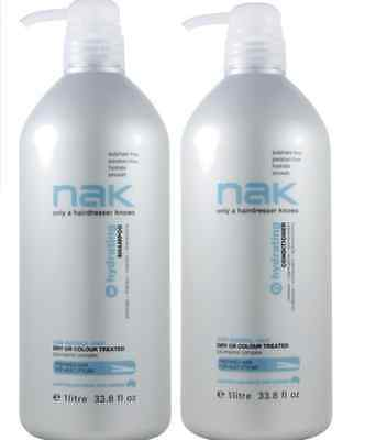 Nak Hydrating Shampoo and Conditioner 1000ml Duo Pack 1 Litre