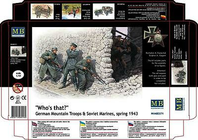 Master Box 1/35 Scale Plastic Model Kit Who's That Mb3571
