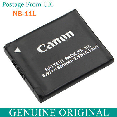 Genuine Original Canon NB-11L Battery For NB-11LH CB-2LFE A2300 A4000 A3400 is