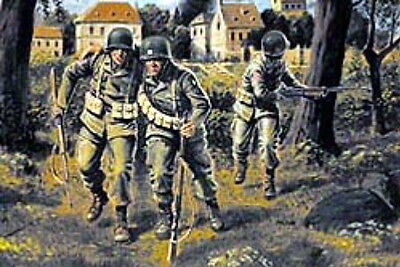Master Box 1/35 Scale Plastic Model Kit Us Paratroopers 1944 Mb3511