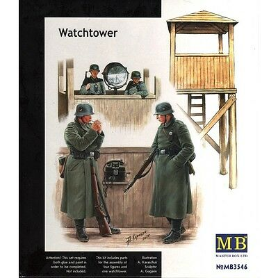 Master Box 1/35 Scale Plastic Model Kit Watchtower Mb3546