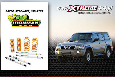 Ironman suspension for NISSAN PATROL Y61 (97) LIFT 50mm