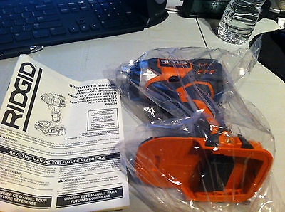 NEW RIDGID 18v VOLT 1/4 INCH X4 LITHIUM-ION CORDLESS IMPACT DRIVER MODEL R86034