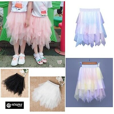 Gonna Lunga Vestito Chiffon Bambina - Girl Maxi Skirt Dress SKIR012