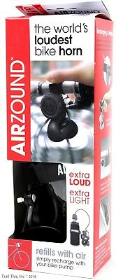 Delta AirZound Rechargeable Bike NEW Bicycle Horn 115db VERY LOUD air zound
