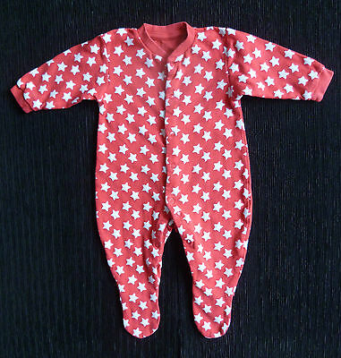 Baby clothes BOY GIRL 3-6m red/white star babygrow SEE SHOP! COMBINE POSTAGE!