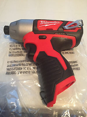 New Milwaukee 12v M12 Lithium  1/4-in Hex Impact Driver 12 volt