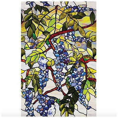 Decorative Privacy Window Film Stained Glass Static Cling No Non Adhesive Roll