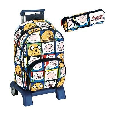 Adventura Time Backpack with Cart / Hora Aventuras Mochila Carro