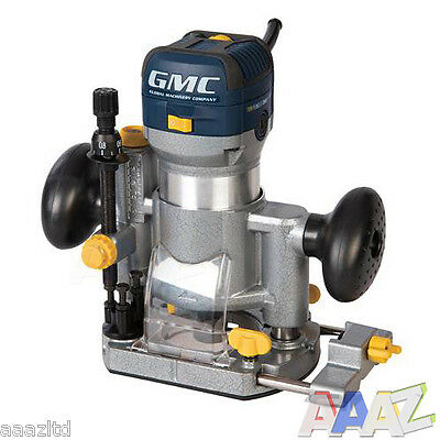 "GMC 710w Plunge & Trimmer Router 1/4"" 710 watt"