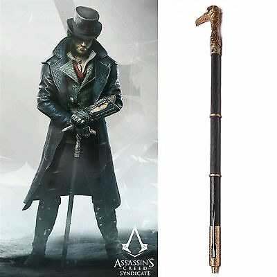 Assassins Assassin's Creed Syndicate Cane Sword Cosplay Crutch Stock Requisiten