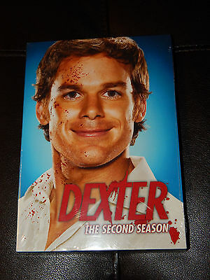 New Dexter The Complete Second Season DVD 2008 Free Shipping Showtime 4-Disc Set