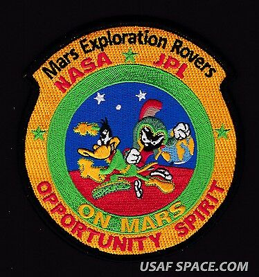 MARS Exploration ROVERS -Marvin Martian-Duck Dodger-NASA JPL SPACE MISSION PATCH