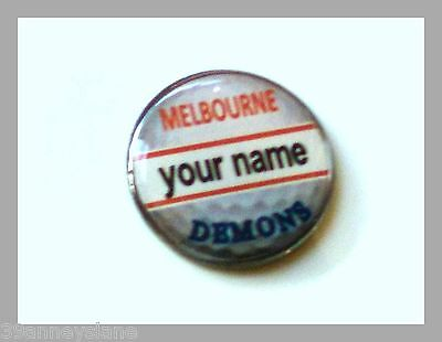 anneys - your OWN PERSONALISED  **DEMONS** golf ball marker!!