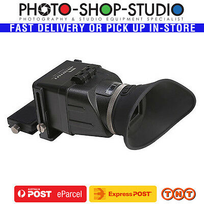 "GGS LCD Viewfinder Swivi S3 3:2 4:3 3.0"" 3.2"" with Extension Bracket (3X, Foldab"