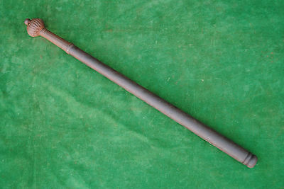 Antique Rare Turkish Islamic Mughal Steel Mace Horseman Warrior Gurz Shishpar