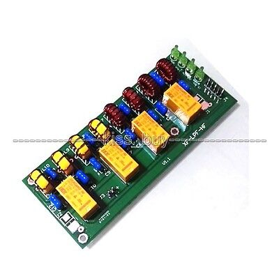 Assembled 12v 100W 3.5Mhz-30Mhz HF power amplifier low pass filter Verstärker