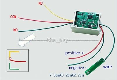 dc 12v Bluetooth Proximity Switch For Phone induction control Schalter