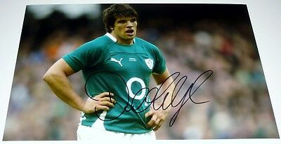 Donncha O'callaghan Ireland Rugby Personally Hand Signed Autograph 12X8 Photo