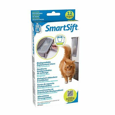 Litter Tray Replacement Liner Cat Sifting Pan Smartsift Large Hooded Box Base