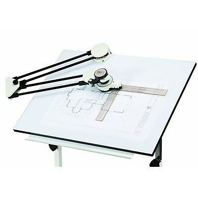 Drafting Ruler Protractor Arm for Draft Drawing Graphic Artist Table Machine