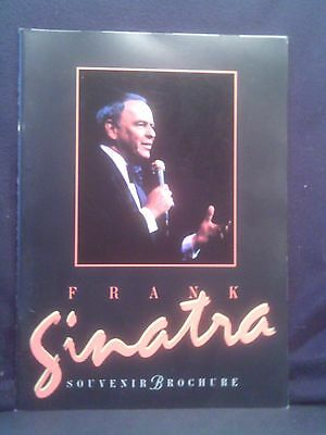 Frank Sinatra Souvenir Brochure, Many B+W and Colored Pictures, 1994