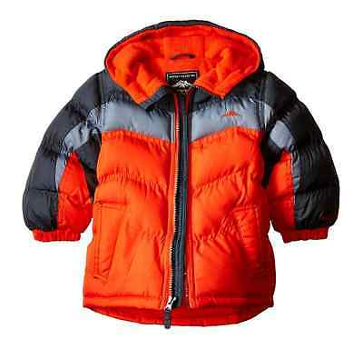 NEW Boys 18 month Toddlers Pacific Trail Colorblock Hooded Puffer Jacket Coat