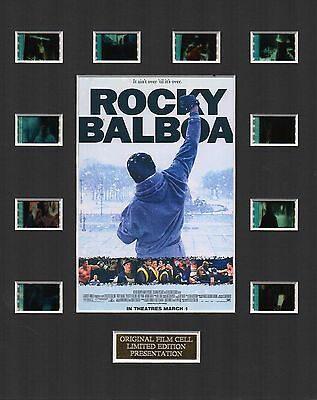 Rocky Balboa 35mm Film Cell Display
