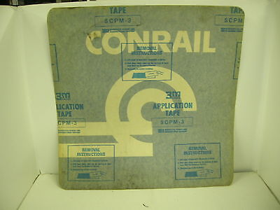 Conrail Train Car Decals 18X18 - These Are Cool!!!!!