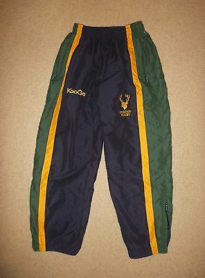 14 / Boys Gordon Rugby Union Long Pants Training Pants Player Issue Pre Owned