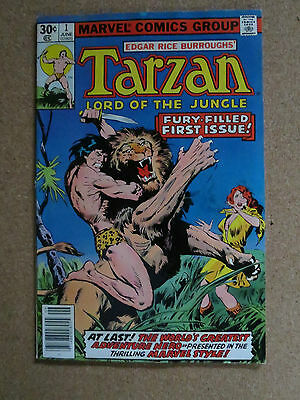 Tarzan #1 (Jun 1977, Marvel) VF