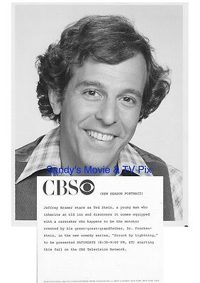 JEFFREY KRAMER Terrific Original TV Photo STRUCK BY LIGHTNING