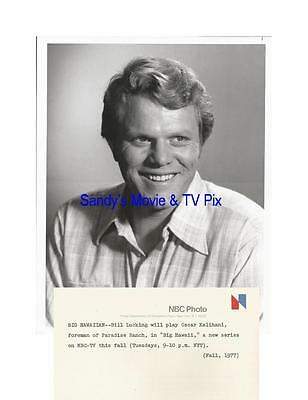 BILL LUCKING Terrific Original TV Photo BIG HAWAII