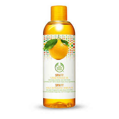 THE BODY SHOP SPA FIT TONING MASSAGE OIL 150ml RRP £15