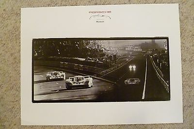 Awesome L@@K Porsche 917 Coupe Showroom Advertising Sales Poster RARE!