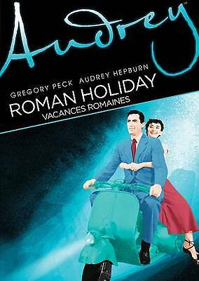 Roman Holiday DVD Gregory Peck/Audrey Hepburn 1953 Film! NEW! Free USA Shipping!