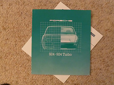 1980 Porsche 924 DELUXE Showroom Sales Brochure GERMAN RARE!! Awesome L@@K