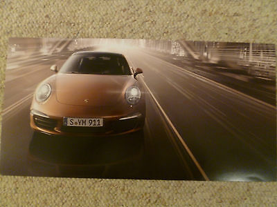 New Porsche 911 Carrera Showroom Advertising Picture, Print  RARE!! Awesome L@@K