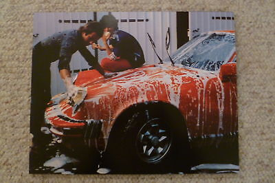 1976 Porsche 911 Coupe Showroom Advertising Sales Poster RARE!! Awesome L@@K