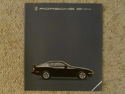 1985 Porsche 944 DELUXE Showroom Advertising Sales Brochure RARE!! Awesome L@@K