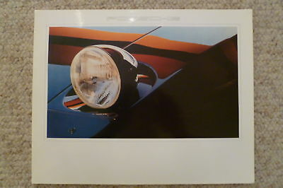 1980 Porsche 928 Coupe Showroom Advertising Sales Small Poster RARE Awesome L@@K