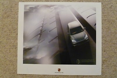 2009 Porsche Cayenne Showroom Advertising Poster RARE!! Awesome L@@K