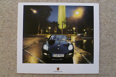 2008 Porsche Boxster S Showroom Advertising Sales Poster RARE!! Awesome L@@K