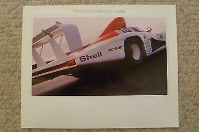 1980 Porsche 936 Spyder Showroom Advertising Poster RARE!! Awesome L@@K