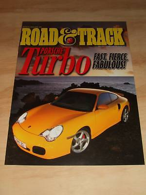 2000 Porsche 911 Turbo Showroom Advertising Brochure -- Rare,!!! Awesome L@@K