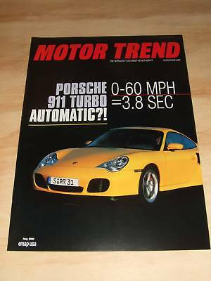 2000 Porsche 911 Turbo Showroom Advertising Brochure -- Rare!!! Awesome L@@K